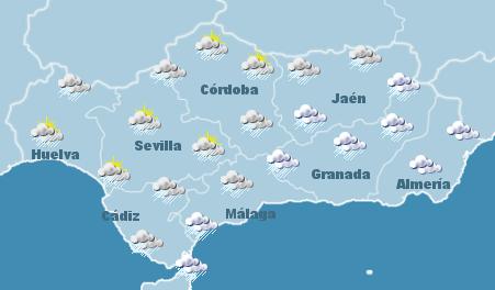 Mapa tiempo Andaluc�a